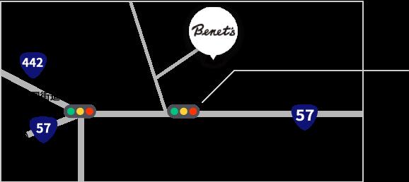 有限会社ベネッツ 地図